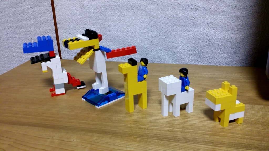 レゴで脳トレ!