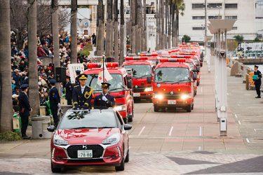 大阪市消防出初式